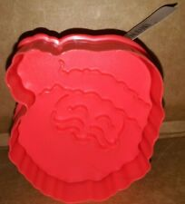 Red Santa shaped Celebrate It Cookie Cutter Stamper 1 pc