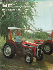 Massey Ferguson 230 and 245 Tractor Brochure Leaflet