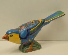 Figurine Oiseau Animalier Style Art Deco Style Art Nouveau Porcelaine Emaux