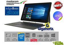 NOTEBOOK MEDIACOM SMARTBOOK S130 13,3'' QHD Intel 128GB SSD 4RAM  WINDOWS 10 PRO
