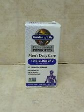 Garden Of Life Dr. Formulated Probiotics Men's Daily Care 30 Ct. #2320