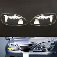 For Mercedes-Benz W220 S600 S500 S320 1998~2005 Headlight Headlamp Clear Lens