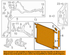Cadillac GM OEM 11-15 SRX Air Conditioner-Condenser 22973655