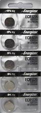 5 Pack Fresh ENERGIZER CR1220 BATTERY 3V LITHIUM CR 1220 DL1220 BR1220 EXP 2024