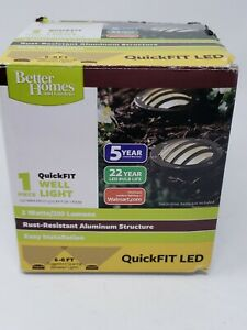 Better Homes & Gardens Well Light QuickFit 200 Lumen Landscape LED Light New