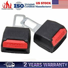 Hot Sell 1 Pair Car Seat Belt Buckle Extension Alarm Stopper Extender Eliminator