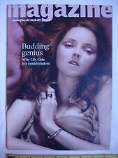 Sunday Herald Magazine 11th October 2009. Lily Cole.Sharon Den Adel.Craig Mackay