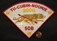 TU-CUBIN-NOONIE OA LODGE 508 UTAH NATIONAL PARKS COUNCIL 2000 PIE JACKET PATCH