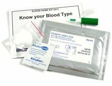 Eldoncard Blood Type Testing Kit, Blood Typing Test Kit w/ Instructions (Single)