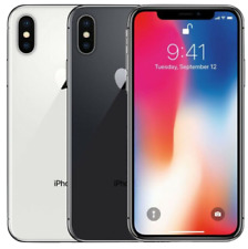 Apple iPhone X 64GB 256GB Unlocked Black / Silver Aussie Seller