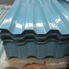POLYCARBONATE ROOFING SHEETS 1.8 M  LENGTHS -OCEAN BLUE ROMA PROFILE