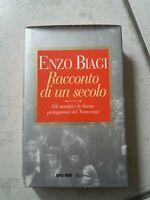 """***LIBRO """"RACCONTI DI UN SECOLO""""  -ENZO BIAGI- RAI.ERI - RIZZOLI EDITORE***"""