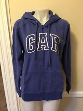 Gap Women`s XL Raglan Arch Logo Full Zip Hoodie Sweatshirt  NWT