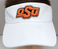 OKLAHOMA STATE COWBOYS NCAA WHITE Sports College SUN VISOR HAT Top Of The  World dabe0ee5636d