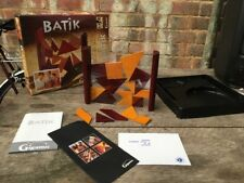 Batik Wooden Puzzle Pieces Strategy Game by Gigamic Boxed 95% Complete Rare!