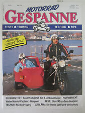 Motorrad Gespanne Magazine March Suzuki Tests Technik Tips