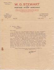 (R8-46) 1938 Australia philatelic letter from Wg Stewart