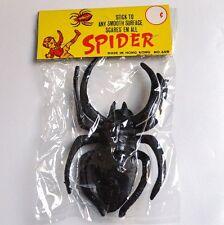 noires Jouet Araignée 12 CM SPIDER Vintage Halloween Amusement ORIGINAL