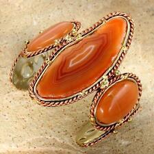 New Tara Mesa Multiple Orange Slice Cuff Bracelet