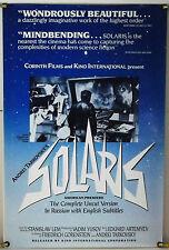 SOLARIS ROLLED ORIG 1SH MOVIE POSTER ANDREI TARKOVSKY KINO RR80'S (1972)