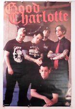 "Good Charlotte Poster Vintage Poster 22.25"" X 34.50"" Nos (b158)"
