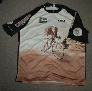 Major Taylor 1899 World Champion Cycling Bicycling Jersey 3XL Louis Garneau