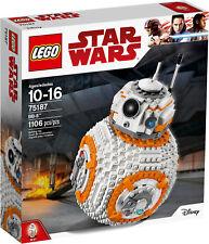 Lego Star Wars 75187 BB-8 Fuori Produzione Raro Disney Nuovo