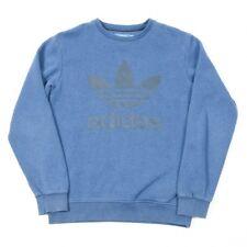 Vintage ADIDAS Spell Out Sweatshirt | Mens S | Retro Sweat Trefoil Originals