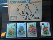G2 STAMPS  MONTSERRAT   MARINE FISH  BOOKLET + SET  MNH