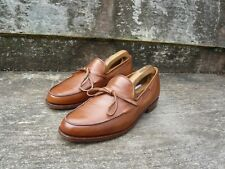 CROCKETT & JONES LOAFERS – BROWN / TAN - UK 7.5 – EXCELLENT CONDITION