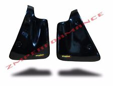 NEW HONDA ATC200X 83 - 85 BLACK PLASTIC RADIATOR AIR SCOOPS ATC 200X PLASTICS
