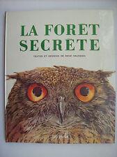 René Hausman la forêt secrète Dupuis 1979 Spirou TBE nature oiseau