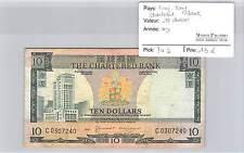 BILLET HONG KONG CHARTERED BANK - 10 DOLLARS