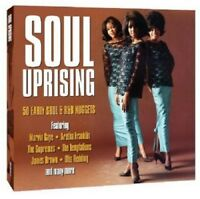 Soul Uprising 2-CD NEW SEALED Sam Cooke/Mary Wells/Four Tops/Marvin Gaye/Supreme