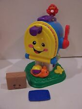 #B Fisher Price Laugh Learn Letter Mailbox Talking Numbers Colors music Baby Toy