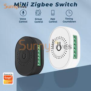 TMZ02 Mini ZigBee3.0Smart Dual Control On-off Device Wireless Remote Control APP