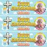 2 Personalised Christening Banner photo 1st Baby Birthday BAPTISM HOLY COMMUNION