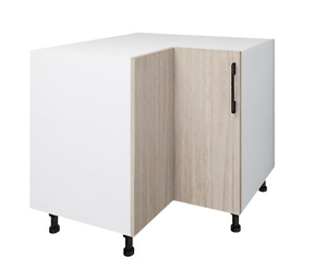 Hardis 2-Door Base Corner Kitchen Cabinet - Flat Pack