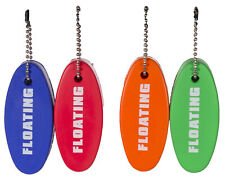 Set of 4 Floating Foam Keychains Ideal For Boating, Swimming, Waterparks