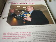 C' était la rda quotidien Heinz Florian Oertel