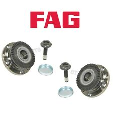 Audi A4 Set of 2 Rear Left and Right Wheel Hub with Bearings FAG OEM 8E0598611C