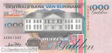 Suriname 1000 Gulden 1995 Unc pn 141
