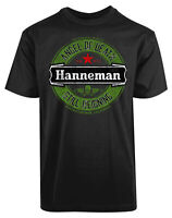 Hanneman Angel of Death Logo California New Mens Shirt Still Reigning Casual Tee