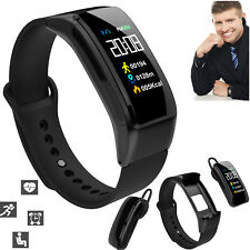 Bluetooth Smart Bracelet Wristwatch Talk Band Message Notifications For Android