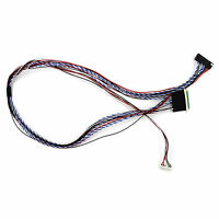 "LVDS CABLE IPEX40P 1ch 6bit 500mm for 10.1"" 12.1"" 14"" 15.6"" 1366x768 LCD Screen"