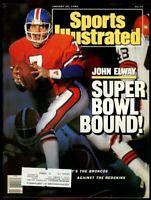SI: Sports Illustrated January 25, 1988 John Elway, Football, Denver Broncos, G