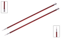 "KnitPro ""Royale"" Birch Wood Single Point Knitting Needles Pair (Dif Sizes)"