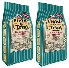 8Skinner's Field and Trial Dog Food Duck and Rice 15KG x2 (30KG) Adult