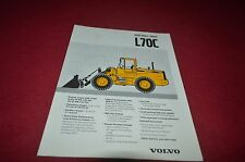 Volvo L70C Wheel Loader Dealer's Brochure DCPA6