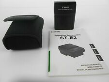 Canon ST-E2 IR Speedlite Transmitter with case and instructions Excellent